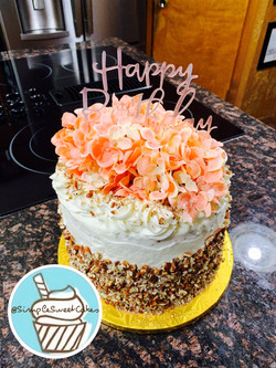 Italian Cream Cake - Happy Birthday Aunt