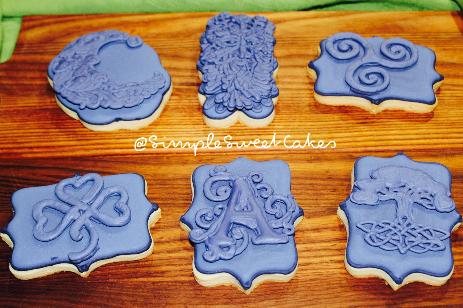 Celtic Tattoo Decorated Sugar Cookies