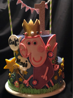 Peppa Pig Birthday Cake!