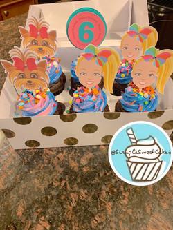 JoJo Siwa Cupcakes