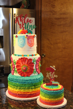 First Fiesta Birthday Cakes