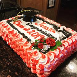 2019 Graduate Cake