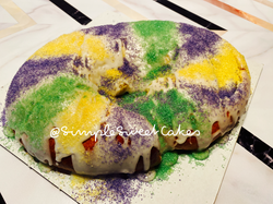 King Cake - Cream Cheese filing
