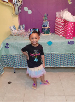 Happy 4th Birthday Ivory!