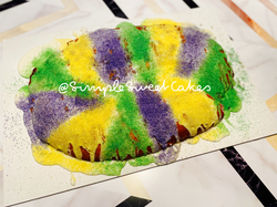 King Cake - Almond filing