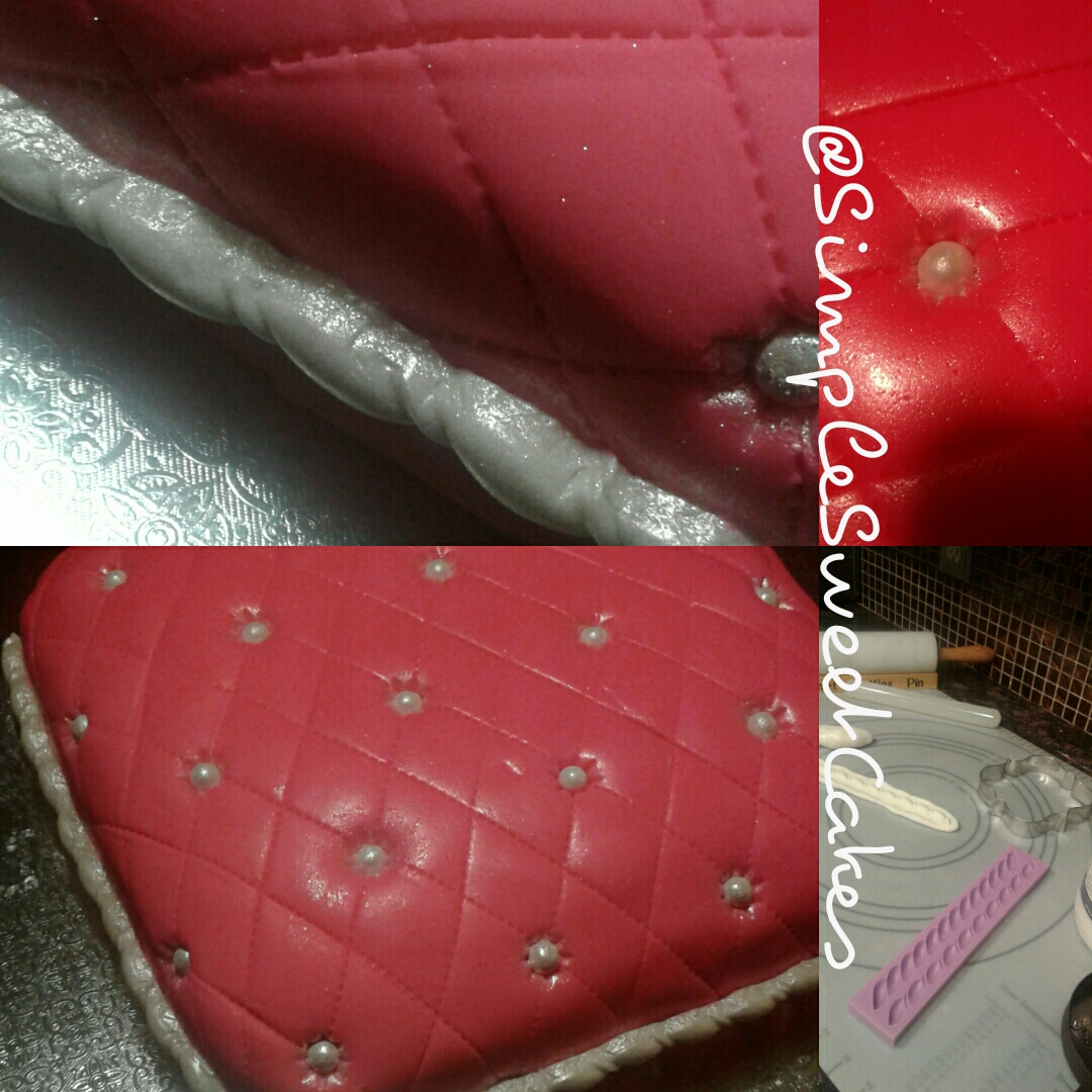 Hot Pink Pillow Cake