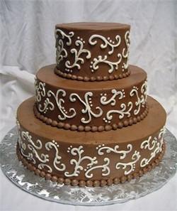 3 Tier Buttercream Classy Event Cake