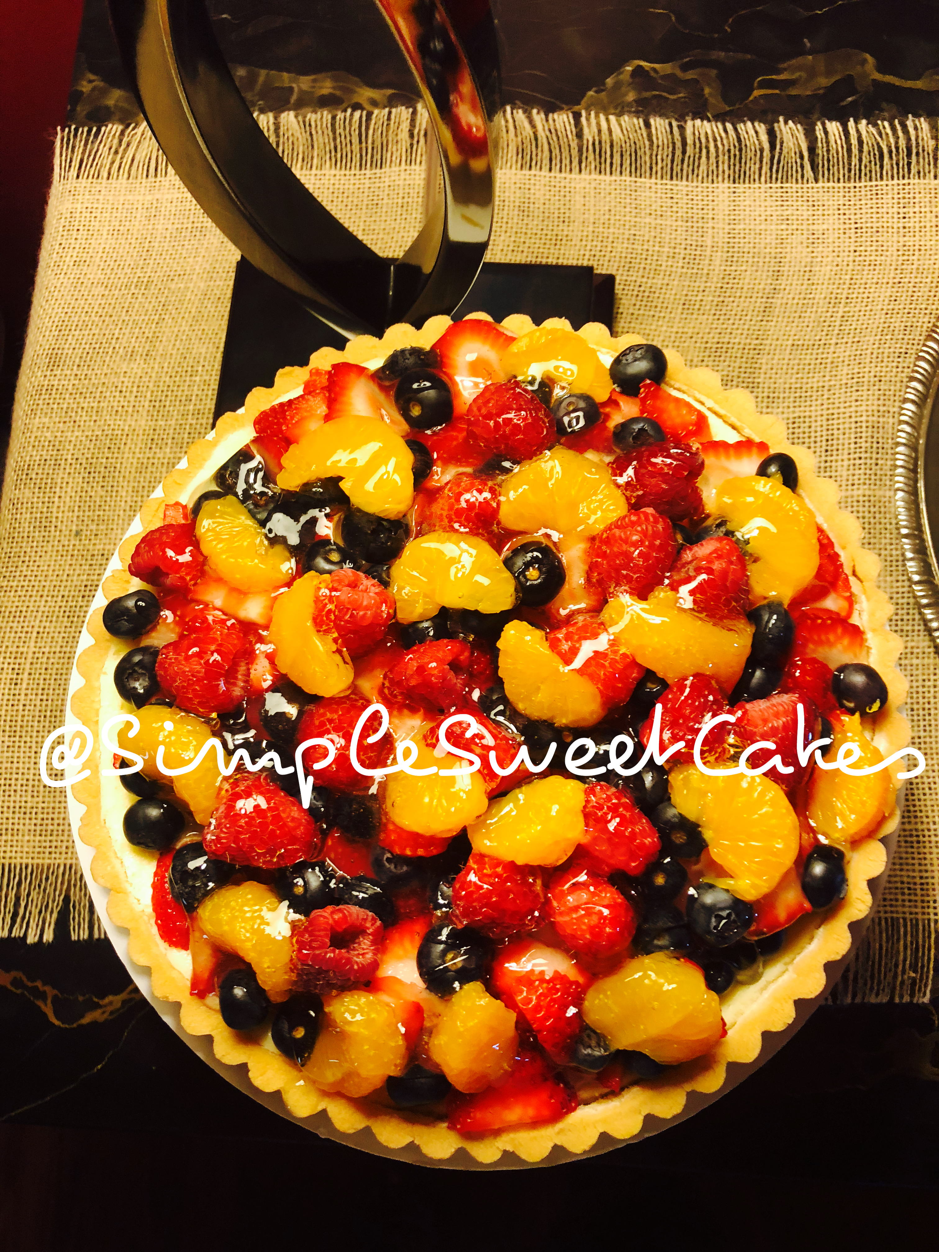 New York Style Cheesecake Tart