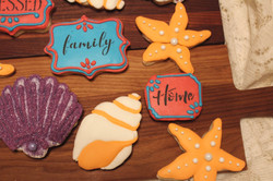 Seashell Sugar Cookies