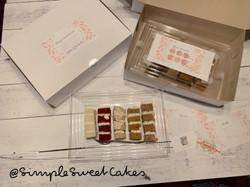Wedding Cake Tasting Box