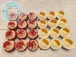Red Velvet & Banana Pudding Cupcakes