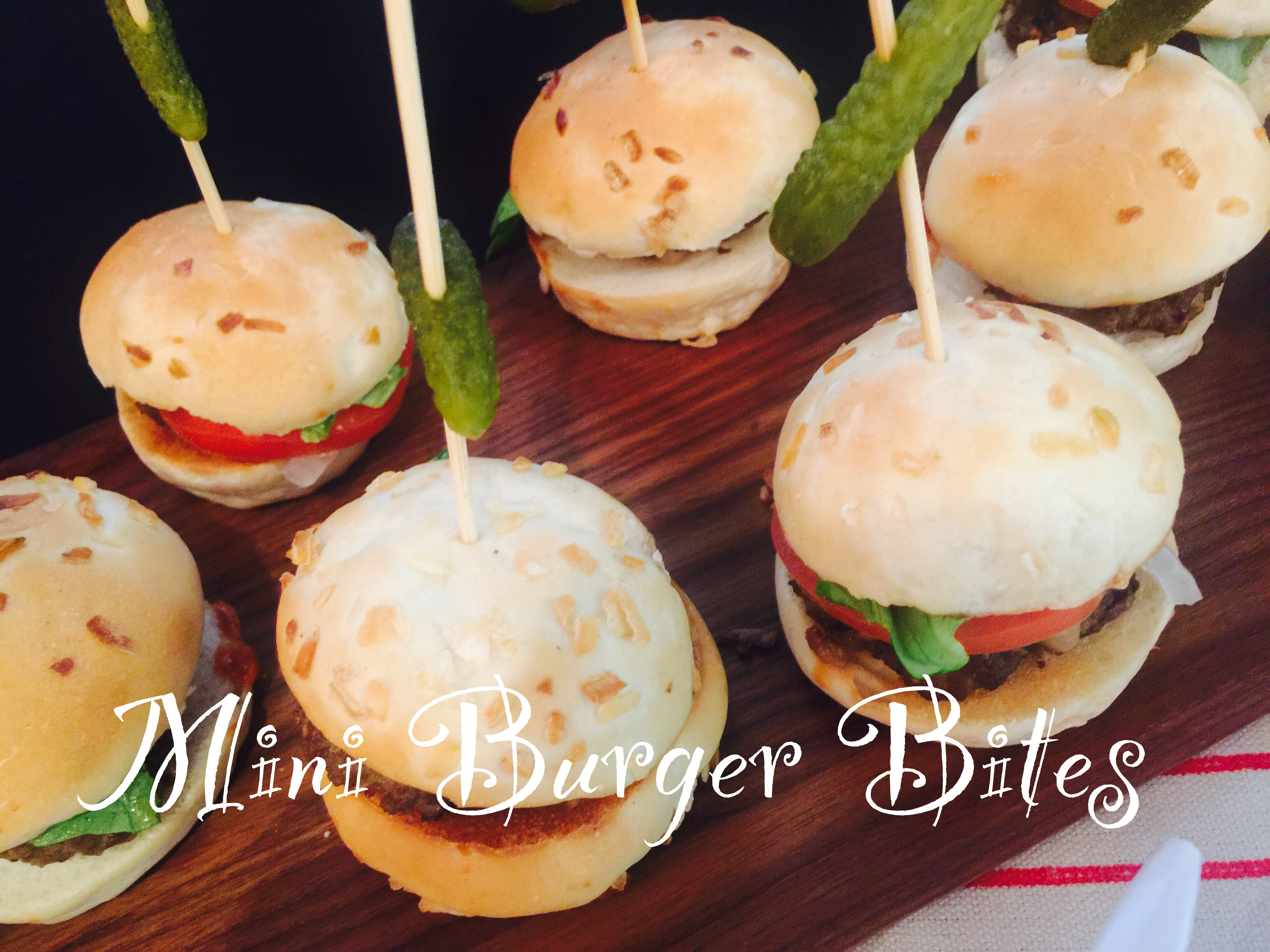 Mini Burger Bites