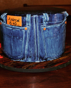 Denim Pockets with Detail