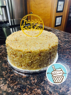 Traditional German Chocolate Cake - Happ