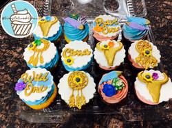 Boho Chic Cupcakes