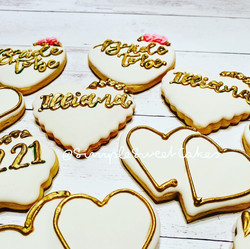 Assorted Bridal Shower Cookies