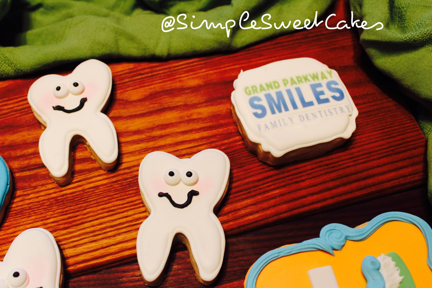 Customized Logo Cookies