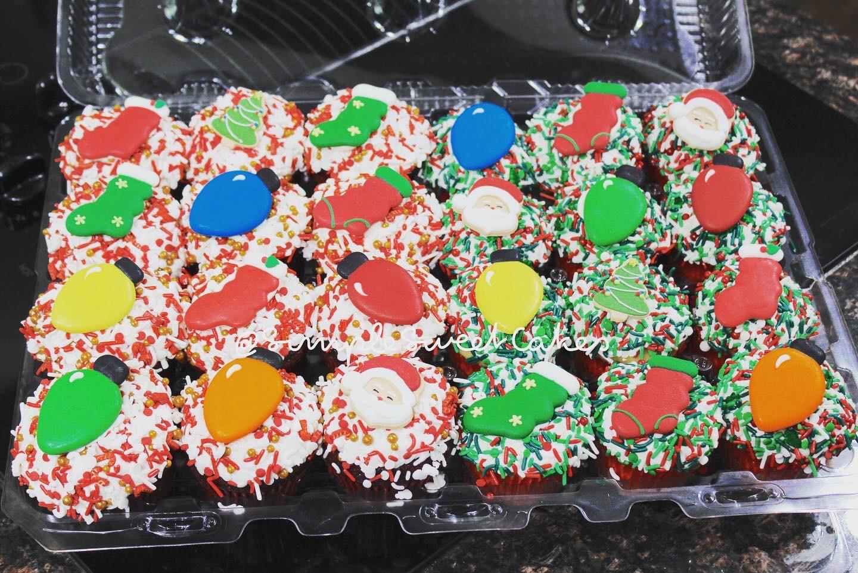 Christmas Eve Cupcakes