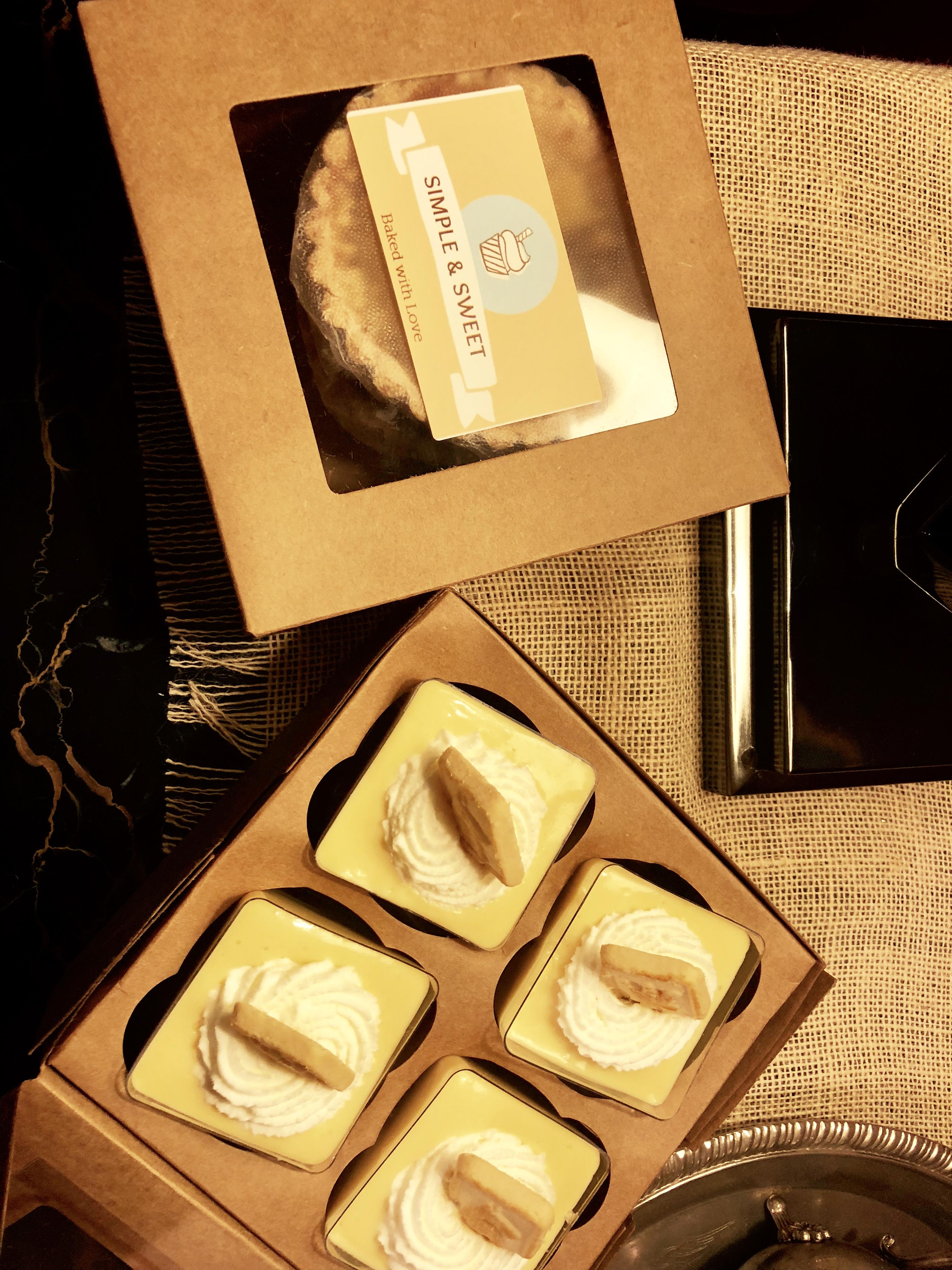 Boxed Desserts