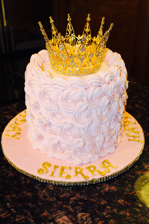 Sierra's 21st Birthday Cake
