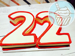 Number Cake - HBD Cam!