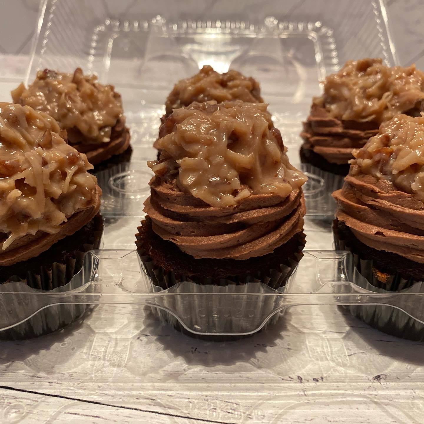 German Chocolate Cupcakes for the Win!