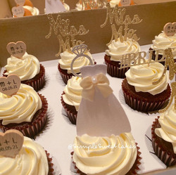 Chocolate cupcakes - Bridal Shower