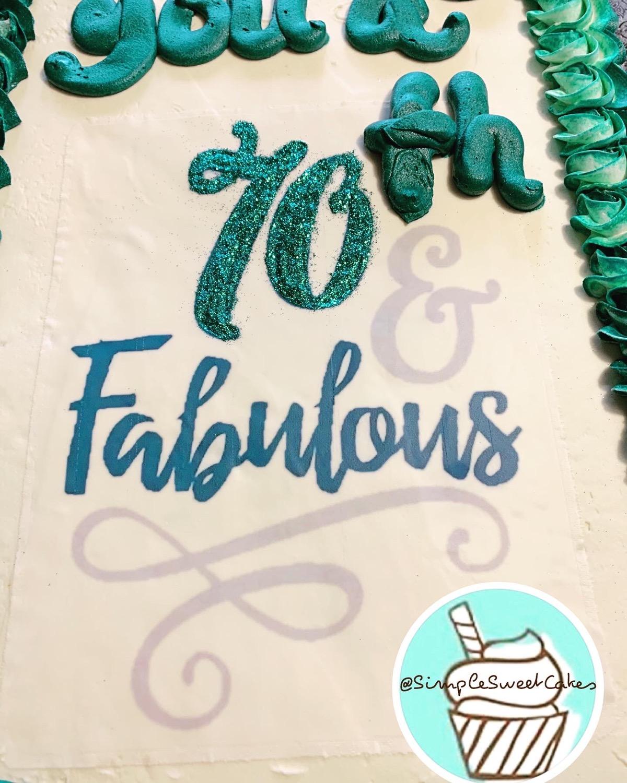 70 & Fabulous!