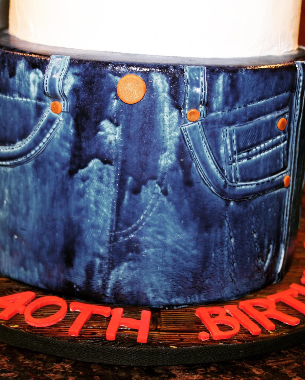Denim Jeans - Front Panel