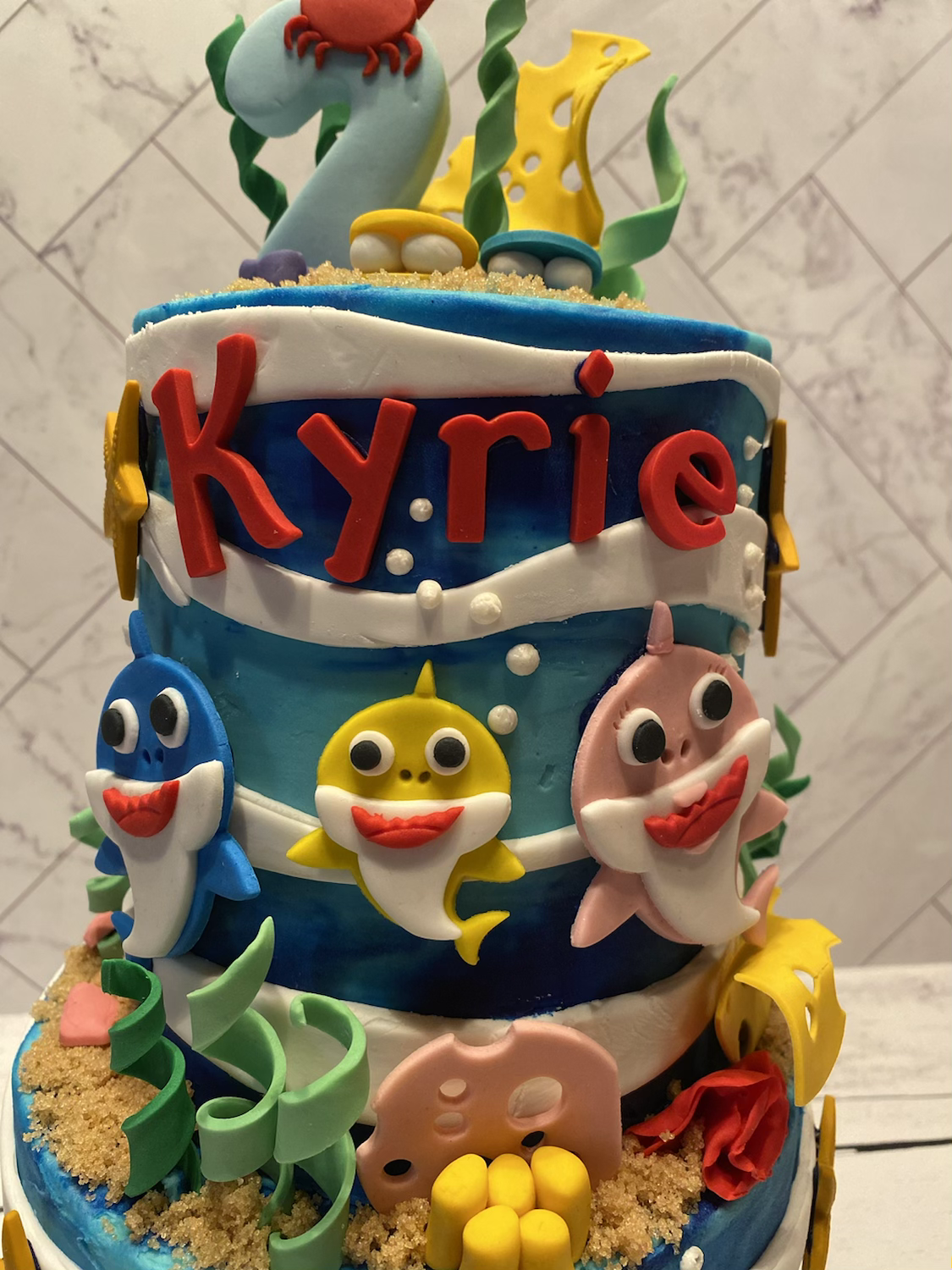 Happy 2nd Birthday Kyrie!