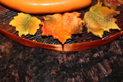 Edible (Fondant) Fall Leaves