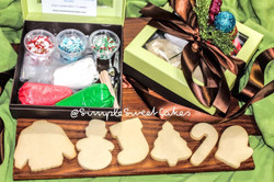 DIY Sugar Cookie Christmas Sets