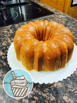 """The Man Catcher"" Sour Cream Pound Cake"