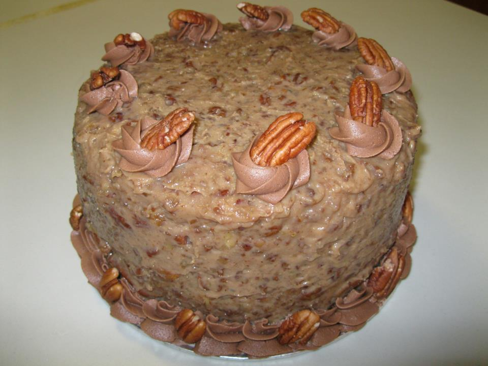 Big Auntie's German Chocolate Cake