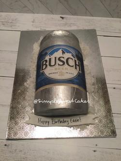 Busch Beer Cake - Happy Birthday Eddie!