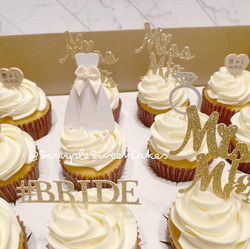 Vanilla cupcakes - Bridal Shower