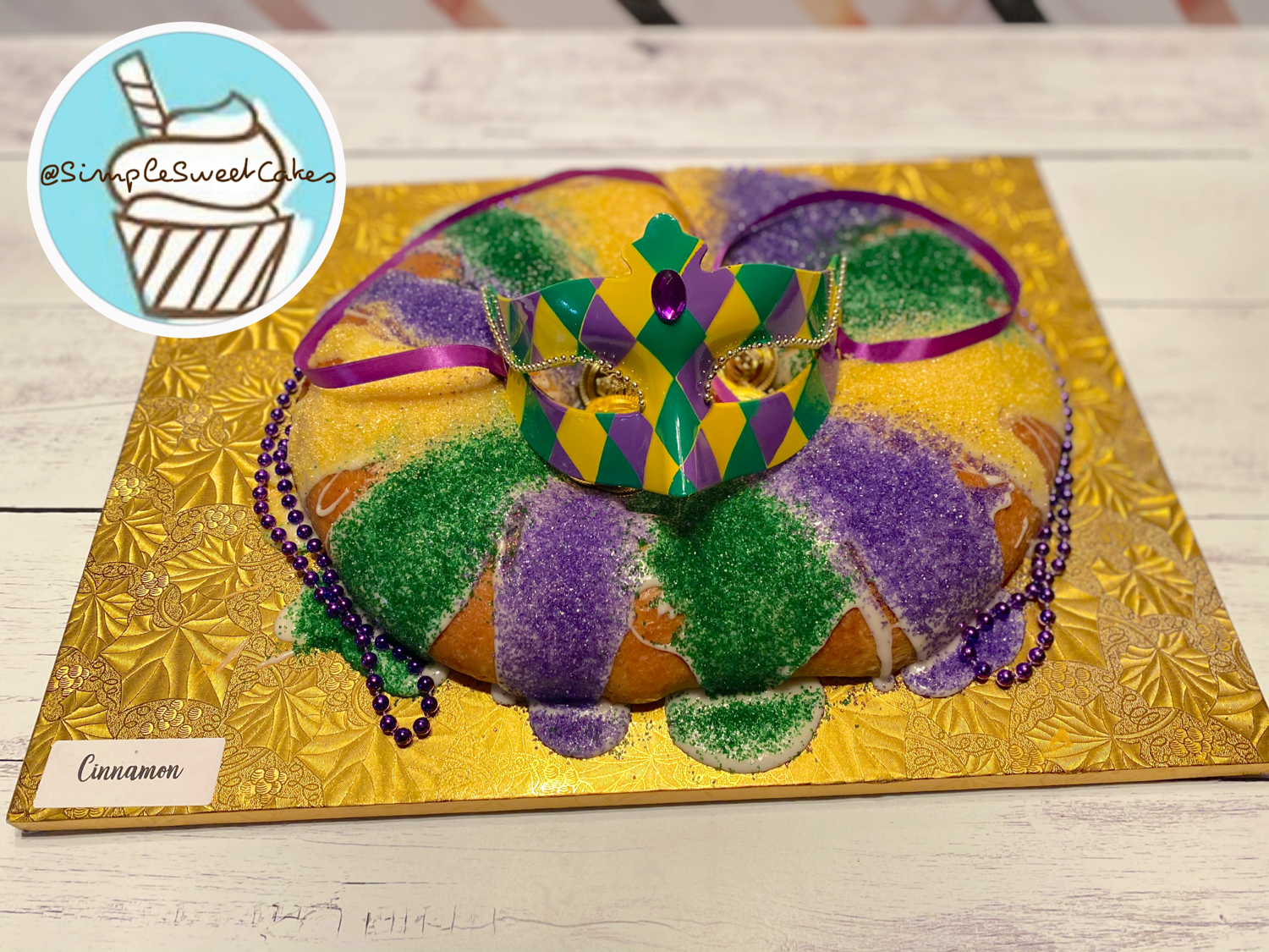 Traditional Cinnamon - King Cake