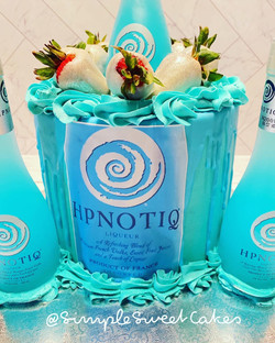 Hpnotiq Edible Label