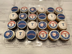Texas Ranger Cupcakes - Happy Birthday M