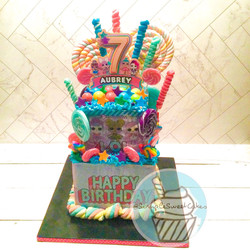 LOL Surprise Doll Cake - Happy 7th Birthday Aubrey!