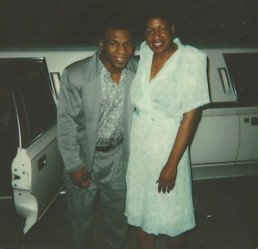 Sharon Willliams and Mike Tyson