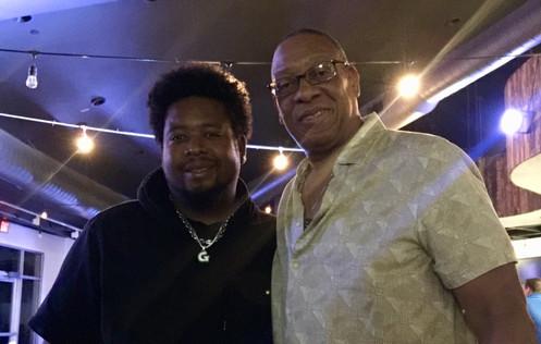 Poncho G  (Las Vegas - U S Comedian) with Michael