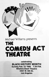 Comedy Act Theatre Flier