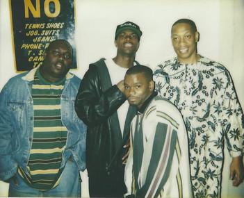 Faizon Love, Chris Tucker, A J Johnson, Michael Williams