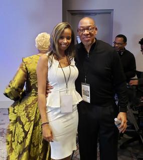LaShon Smith with Michael Williams