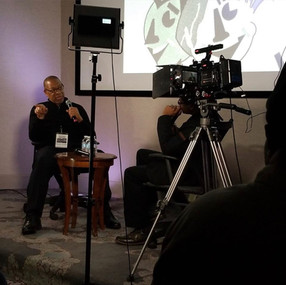 Michael Williams at the B.R.E Productions, Int'l and the Atlanta Creators Conference 2020 Interviewed by Andre LaMont