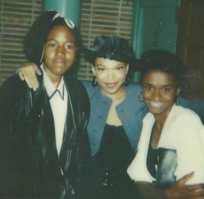 (Niece) Latonya Williams, Tisha Campbell,  Vivica Morake