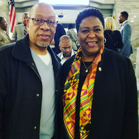 Michael Williams and Felicia A Moore, President  Atlanta City Council