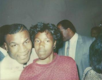 Mike Tyson and (Niece) Latonya Williams