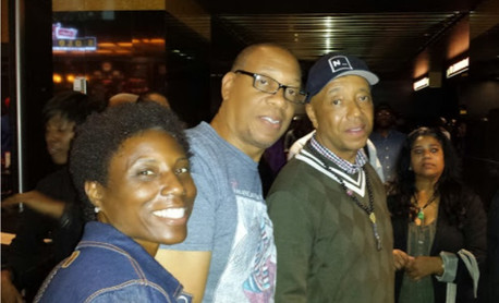 Koko Husser, Michael & Russell Simmons